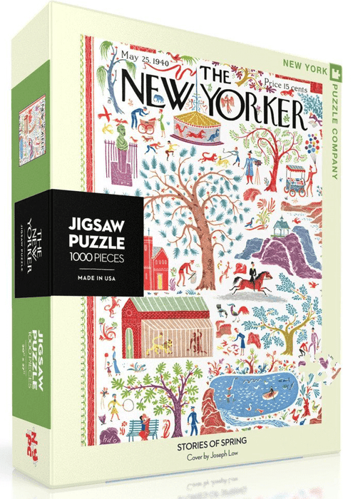 Puzzle (1000pc) New Yorker : Stories of Spring
