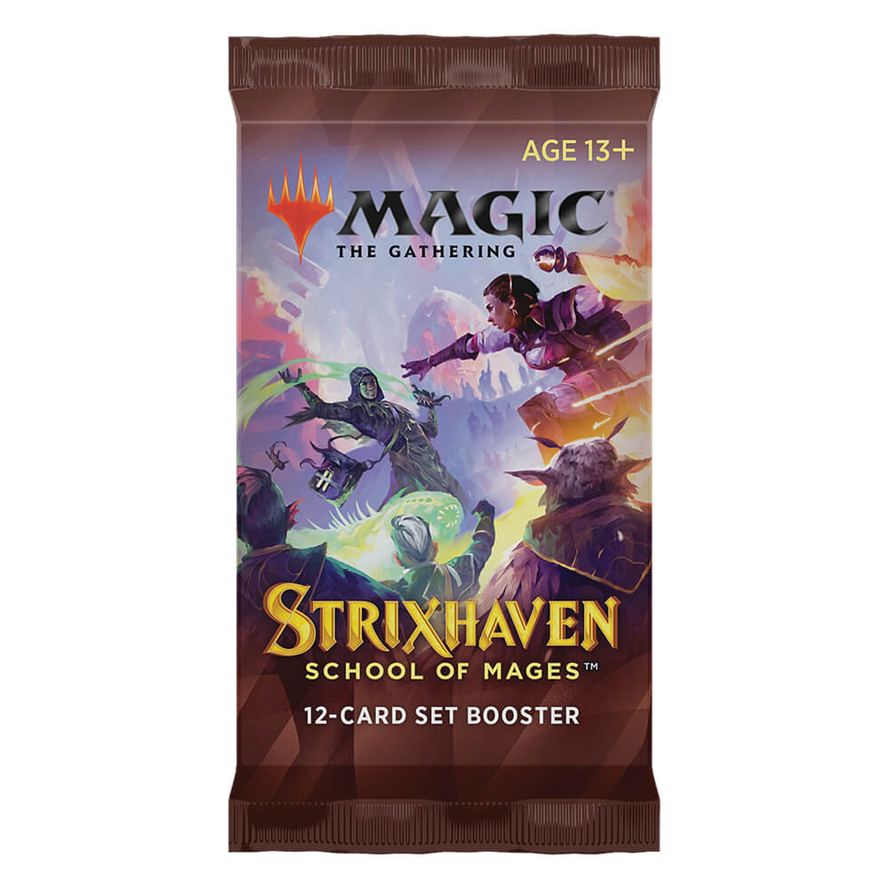 MTG Booster Pack Set : Strixhaven School of Mages (STX)