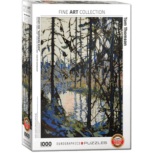 Puzzle (1000pc) Fine Art : Study for Northern River