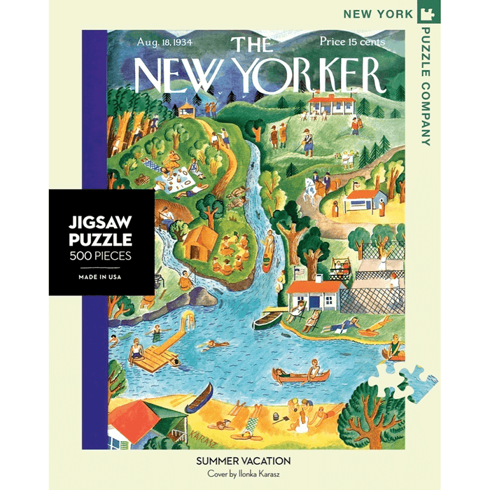 Puzzle (500pc) New Yorker : Summer Vacation