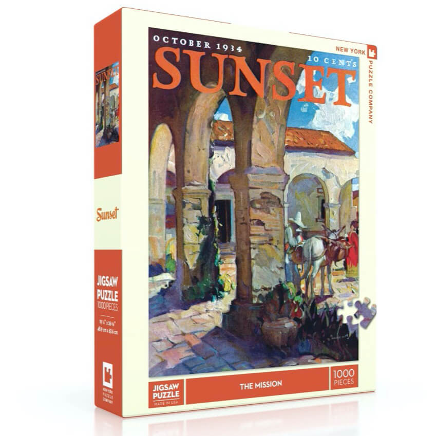 Puzzle (1000pc) Sunset : The Mission