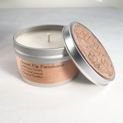 Cantrip Candles (6oz) Sweet Fig Farmhouse