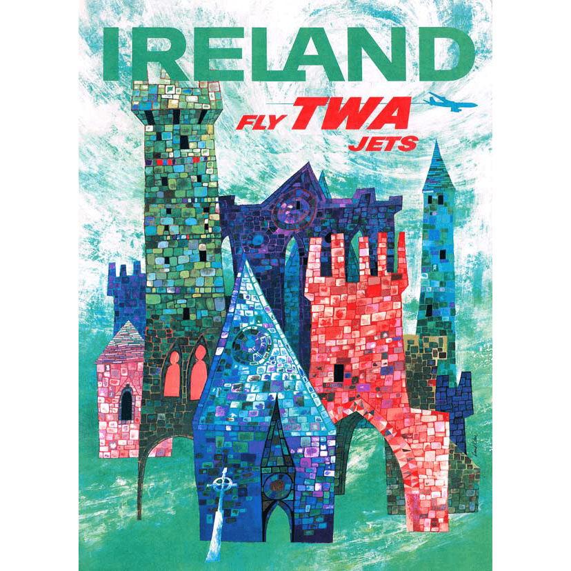Puzzle (1000pc) American Airlines :  Ireland