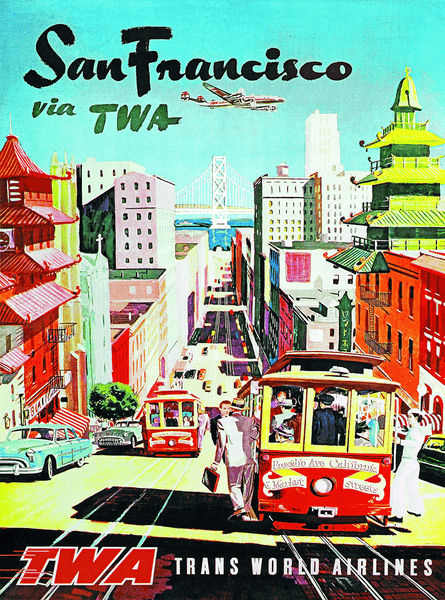 Puzzle (1000pc) TWA : San Francisco
