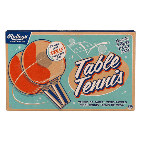 Ridley's Classic Table Tennis