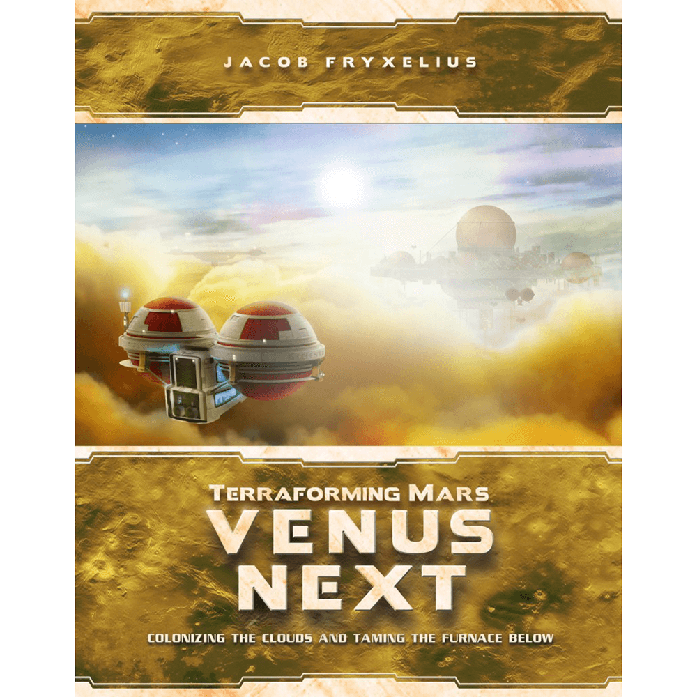 Terraforming Mars Expansion : Venus Next