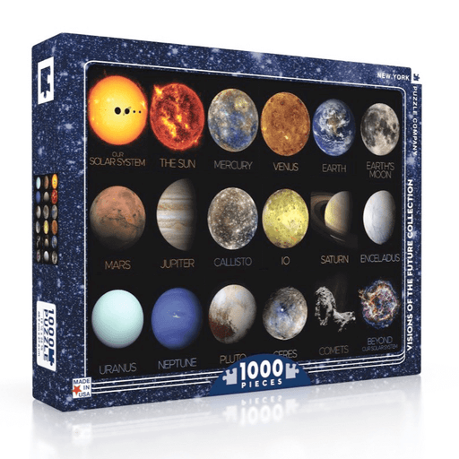 Puzzle (1000pc) Visions of the Future : The Solar System