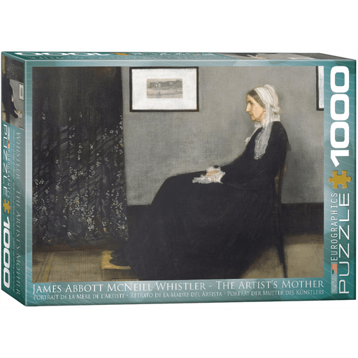 Puzzle (1000pc) Fine Art : The Artist's Mother