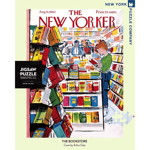 Puzzle (1000pc) New Yorker : The Bookstore