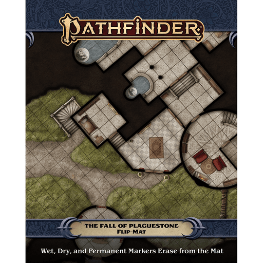 Battlemap Pathfinder (2nd ed) Flip Mat : The Fall of Plaguestone