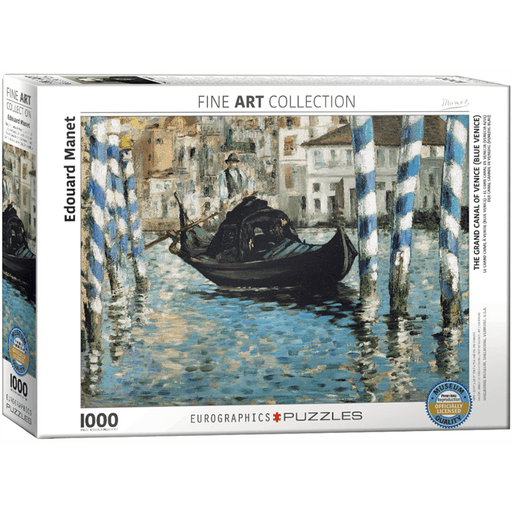 Puzzle (1000pc) Fine Art : The Grand Canal of Venice