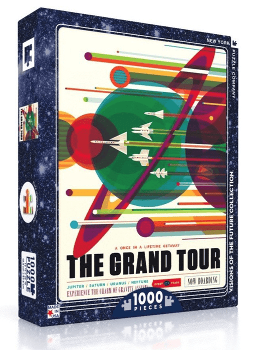 Puzzle (1000pc) Visions of the Future : The Grand Tour