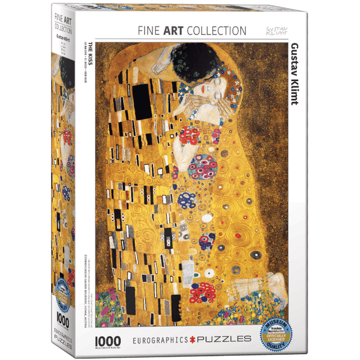 Puzzle (1000pc) Fine Art : Klimt The Kiss