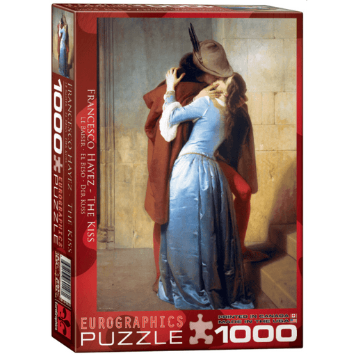 Puzzle (1000pc) Fine Art : Hayez The Kiss