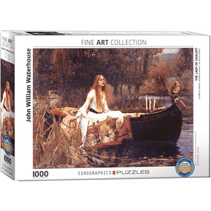 Puzzle (1000pc) Fine Art : The Lady of Shalott