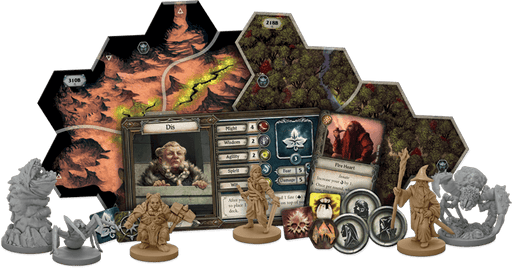 The Lord of the Rings: Journeys in Middle-Earth Expansion : Shadowed Paths