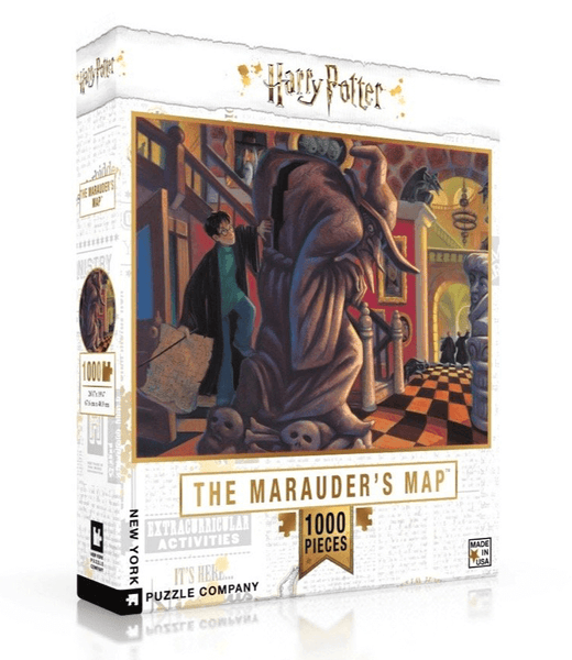 Puzzle (1000pc) Harry Potter : The Marauder's Map
