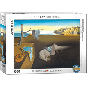 Puzzle (1000pc) Fine Art : The Persistence of Memory