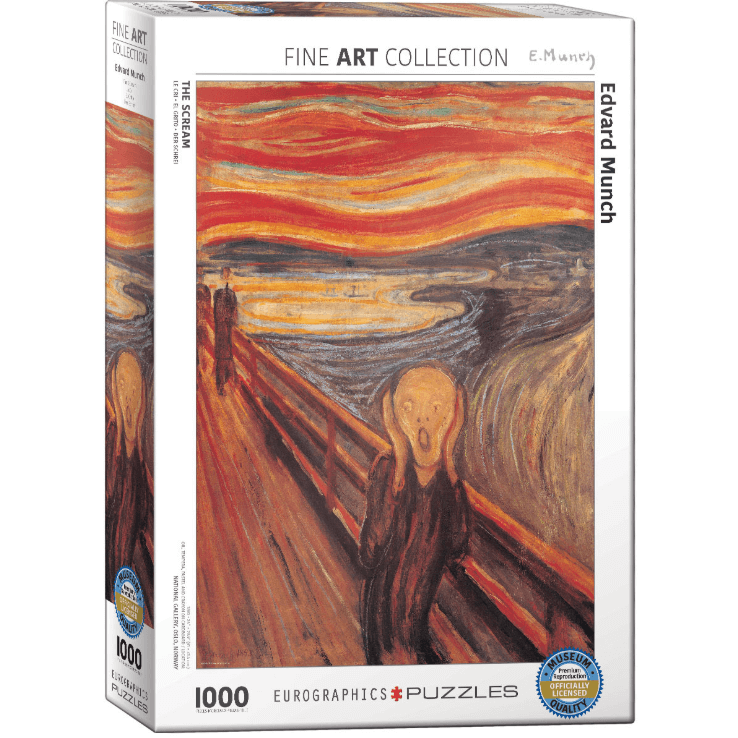 Puzzle (1000pc) Fine Art : The Scream