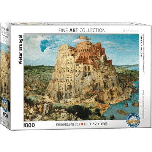 Puzzle (1000pc) Fine Art : The Tower of Babel