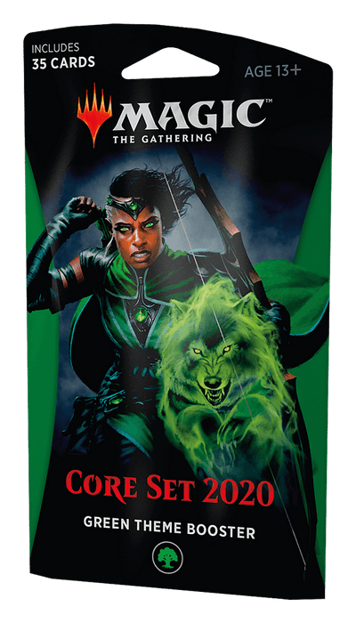 MTG Booster Pack Themed : Core Set 2020 (M20) Green