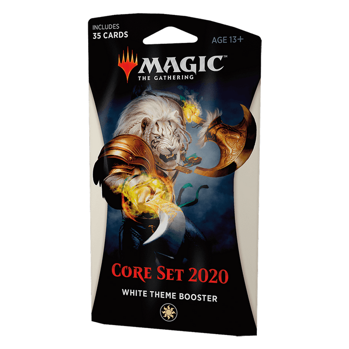 MTG Booster Pack Theme : Core Set 2020 (M20) White