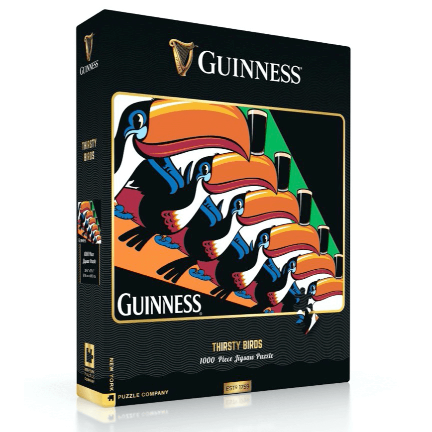 Puzzle (500pc) Guinness : Thirsty Birds