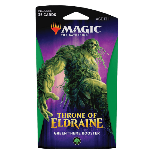 MTG Booster Pack Themed : Throne of Eldraine (ELD) Green