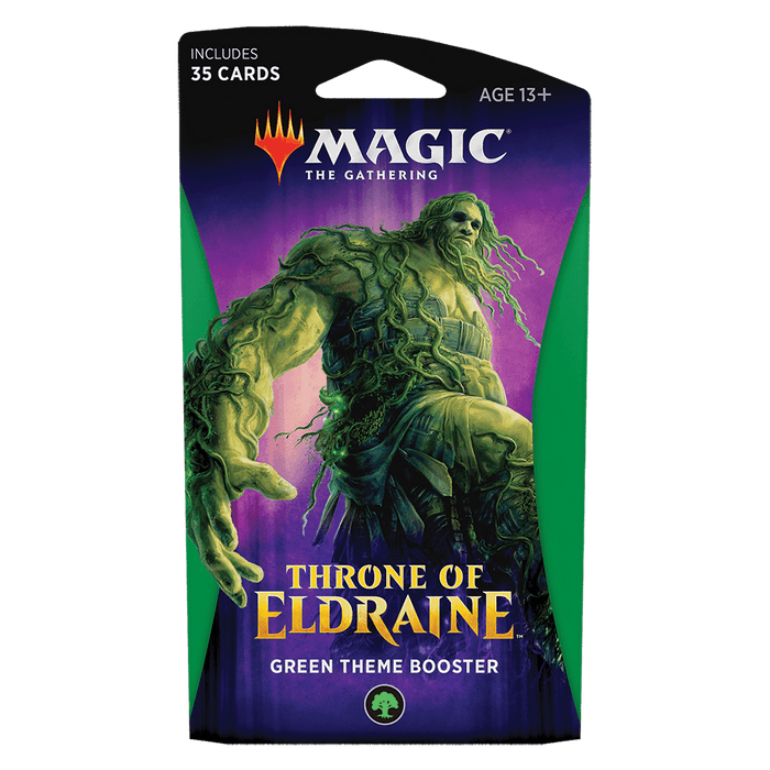 MTG Booster Pack Theme : Throne of Eldraine (ELD) Green