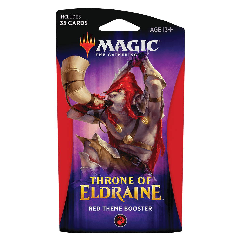 MTG Booster Pack Themed : Throne of Eldraine (ELD) Red