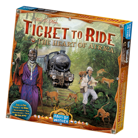 Ticket to Ride Expansion : Heart of Africa