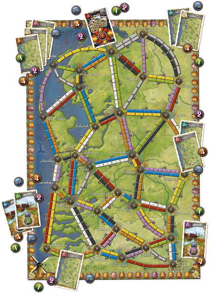 Ticket to Ride Expansion : Nederland