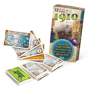 Ticket to Ride Expansion : USA 1910