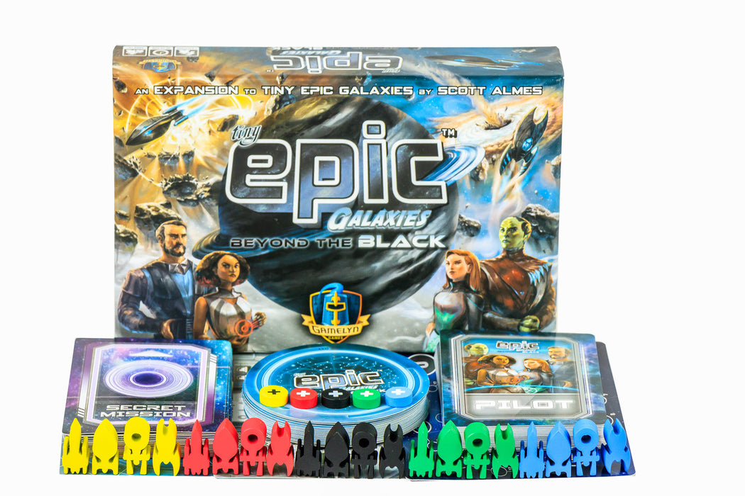 Tiny Epic Galaxies Expansion : Beyond the Black
