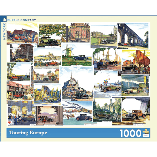Puzzle (1000pc) General Motors : Touring Europe