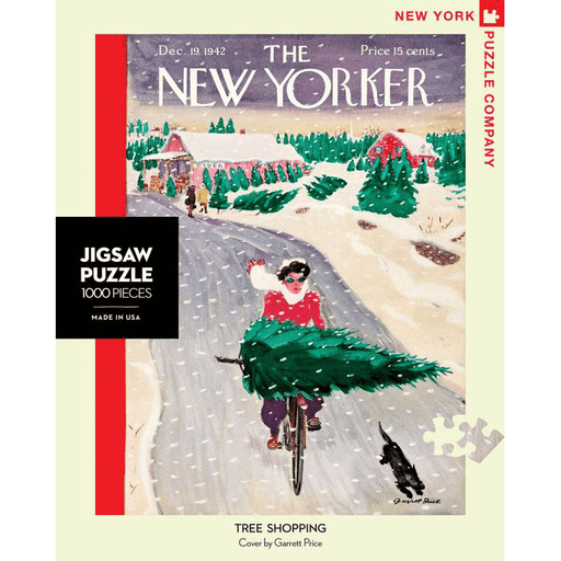 Puzzle (1000pc) New Yorker : Tree Shopping