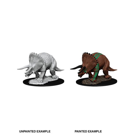 Mini - D&D Nolzur's Marvelous : Triceratops