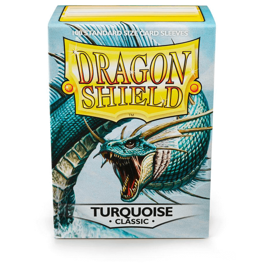 Sleeves Dragon Shield (100ct) Turquoise