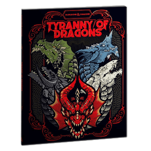 D&D (5e) Tyranny of Dragons (Alt. Art Cover by Hydro)