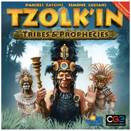 Tzolk'in The Mayan Calendar Expansion : Tribes & Prophecies