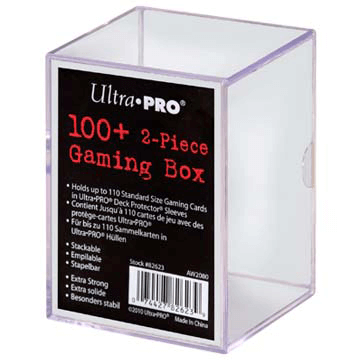 Deck Box - UP Gaming Box (100ct) Clear