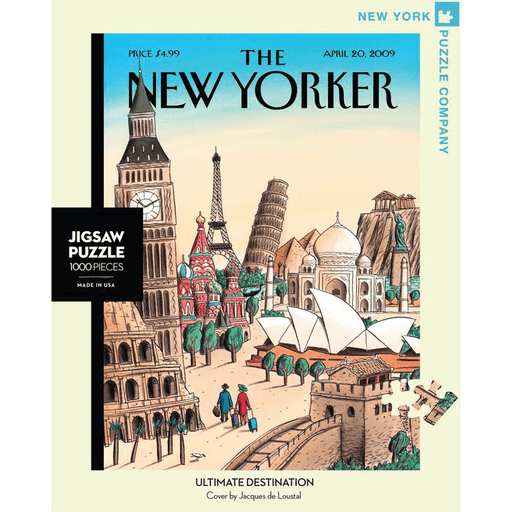 Puzzle (1000pc) New Yorker : Ultimate Destination