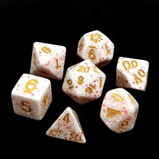 Dice 7-Set Flake (16mm) Ume Onigiri