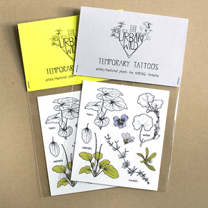 Urban Wild Temporary Tattoos