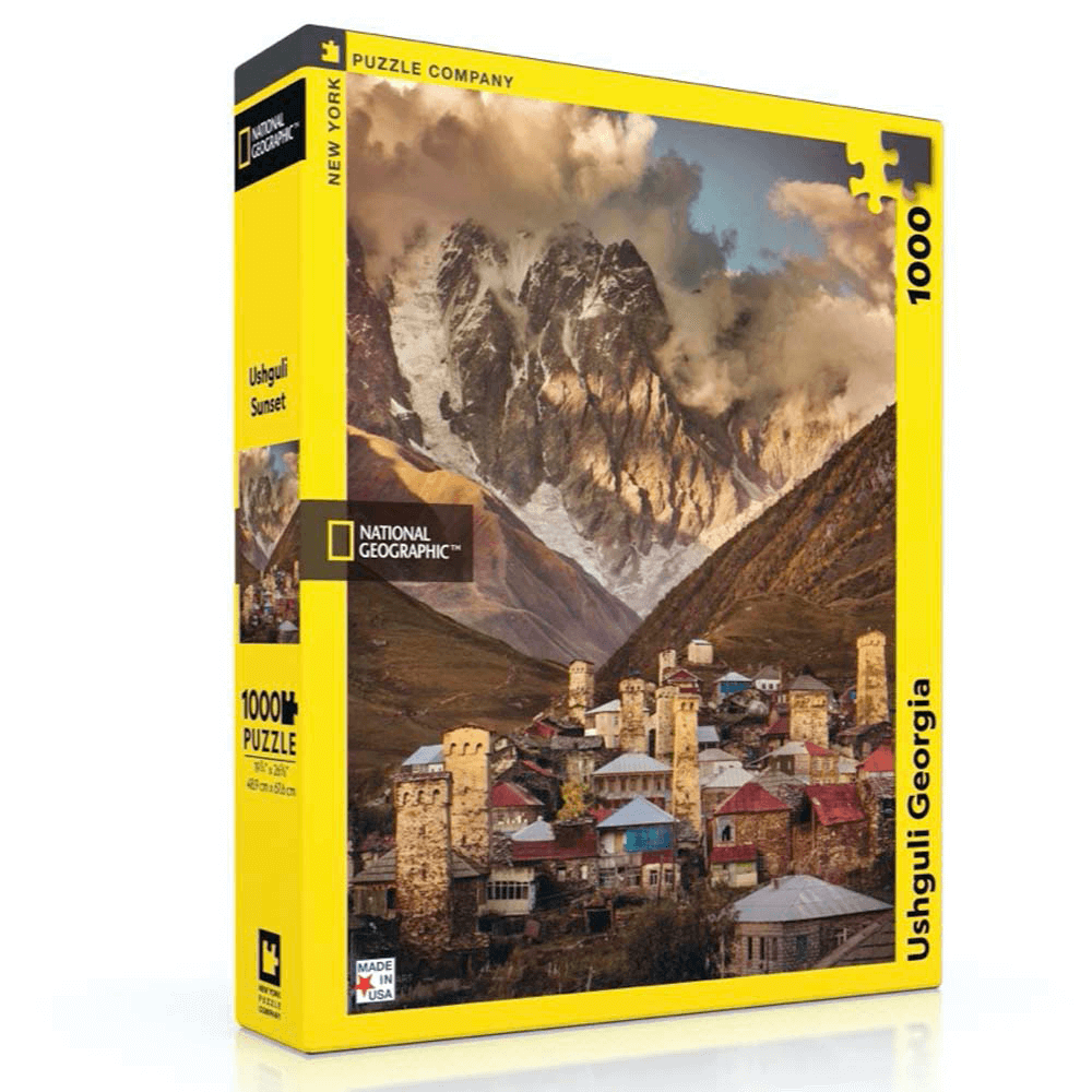 Puzzle (1000pc) National Geographic : Ushguli Georgia