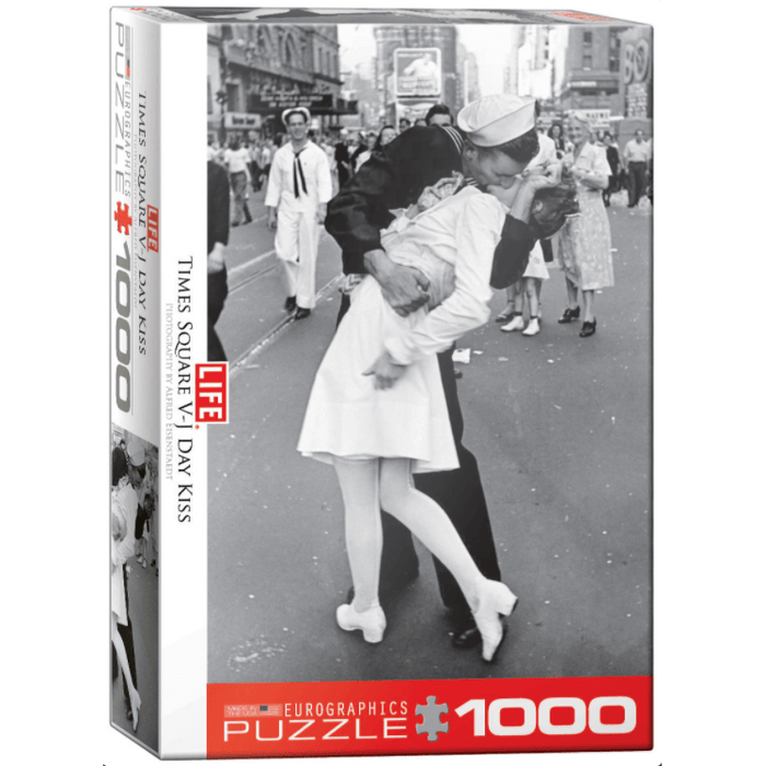 Puzzle (1000pc) Celebrities : V-J Day Kiss in Times Square