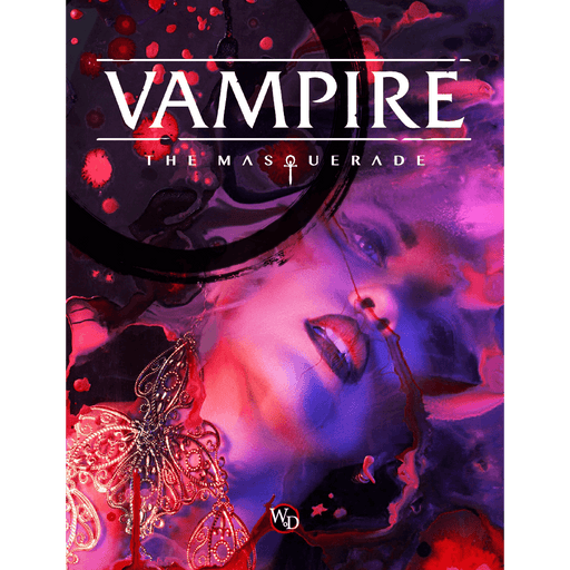 Vampire the Masquerade (5th ed) Core Rulebook