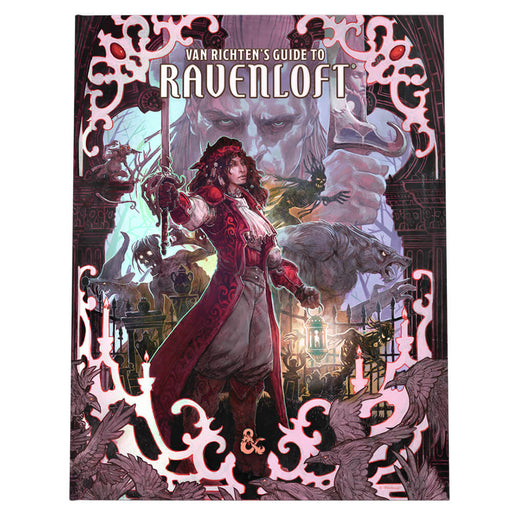 D&D (5e) Van Richten's Guide to Ravenloft (Alt. Art Cover)