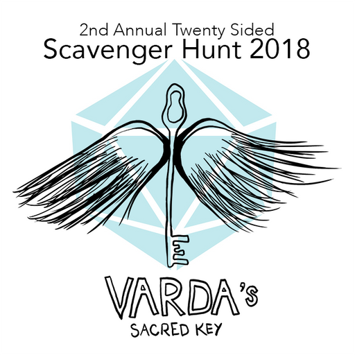 Team Registration - 2nd Annual Twenty Sided Scavenger Hunt | Varda's Sacred Key - SAT 9/1/18 @ 1p