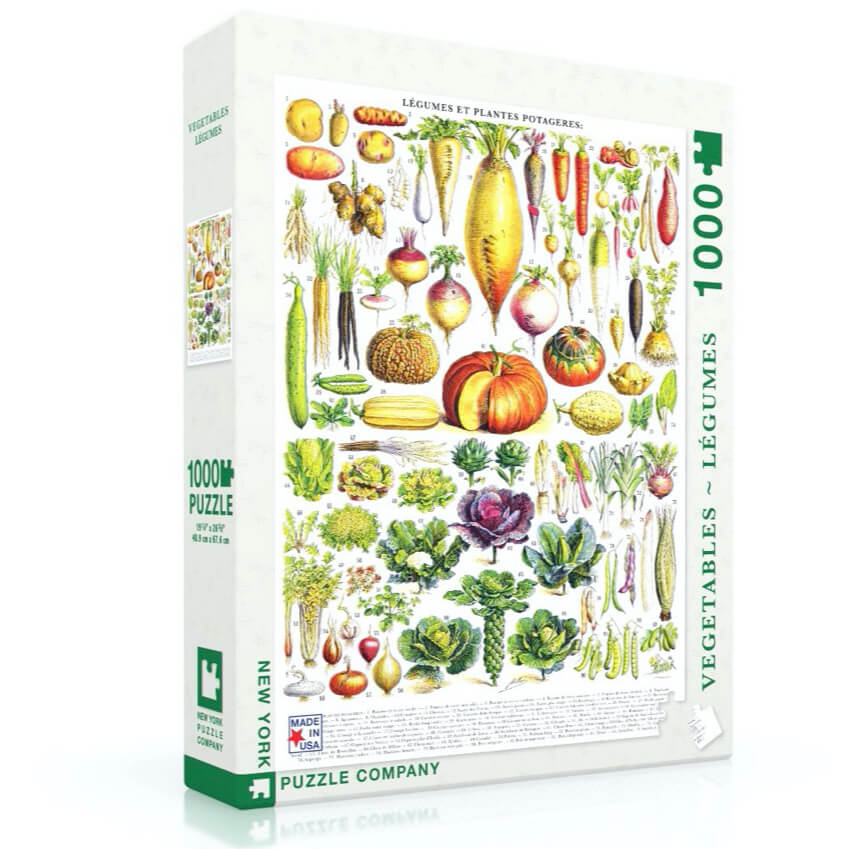 Puzzle (1000pc) Vegetables - Legumes
